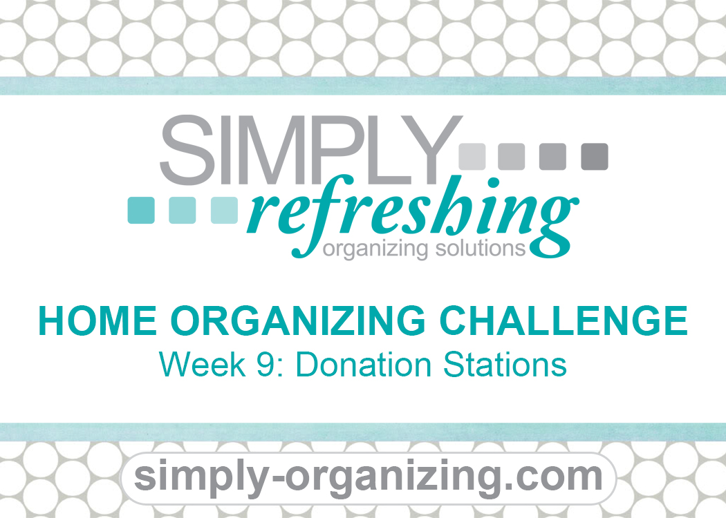 Week 9 Donation Stations