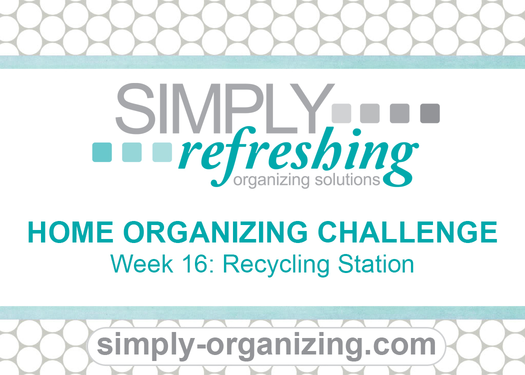Week 16 Recycling Station